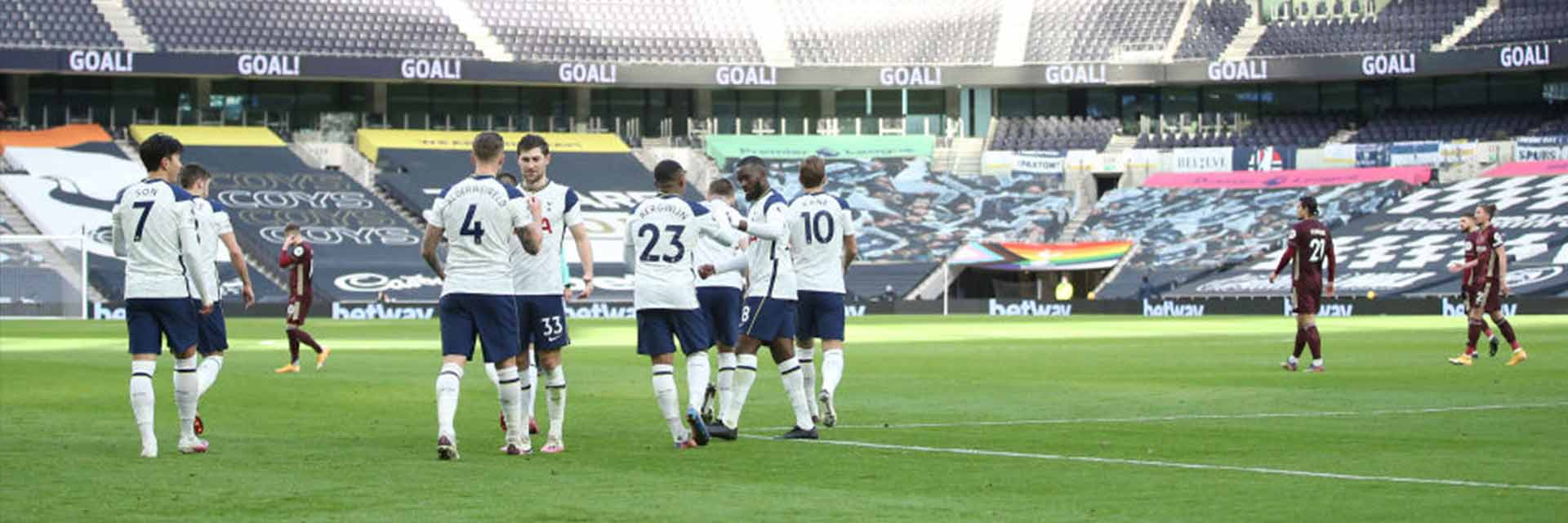 Photo of Tottenham Hotspurs celebrating a goal