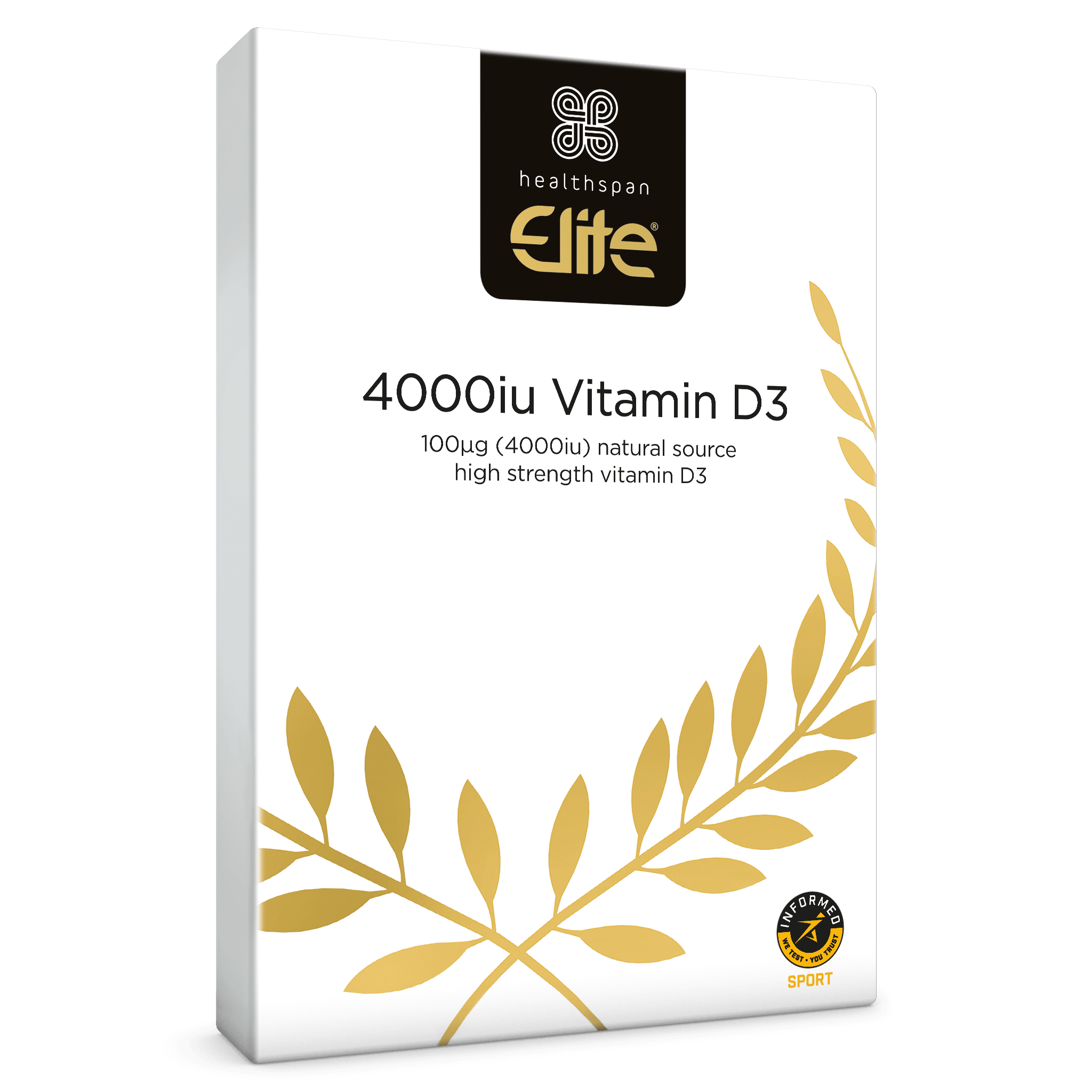 Elite Vitamin D3 4,000iu